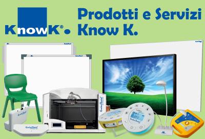 Prodotti e servizi Know K.